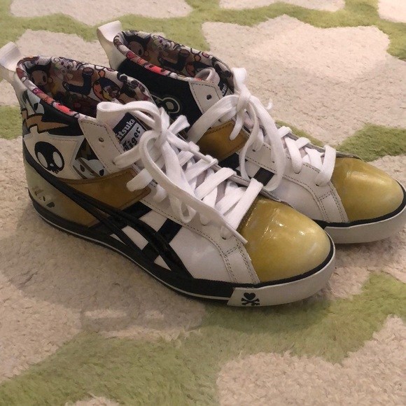new styles 6f01b 47a72 RARE Onitsuka Tiger x Tokidoki High Tops (New)